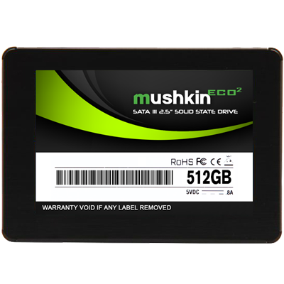 512GB ECO2 SSD SATA 6Gb / s 560 / 305 MB / s MLC 2.5-Inch 7mm Retail