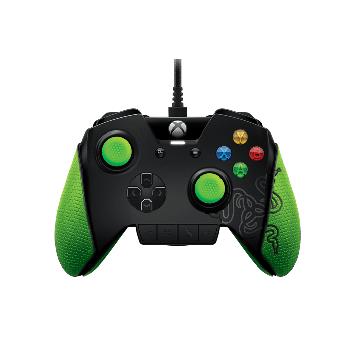 Wildcat, Xbox One and PC, Wired USB, Black-Green, Retail Joystick