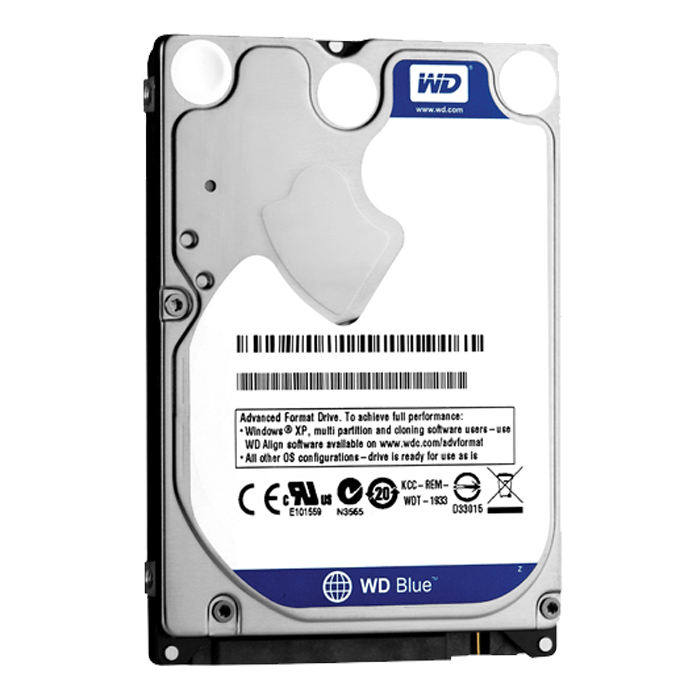 WD BLUE 2TB Laptop Hard Drive SATA 6Gb/s 2.5 Inch 5400 rpm 8 MB Buffer OEM