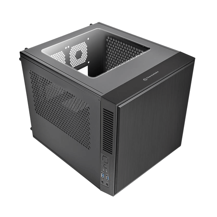 Suppressor Series F1 w/ Window, No PSU, Mini-ITX, Black, Mini Cube Case