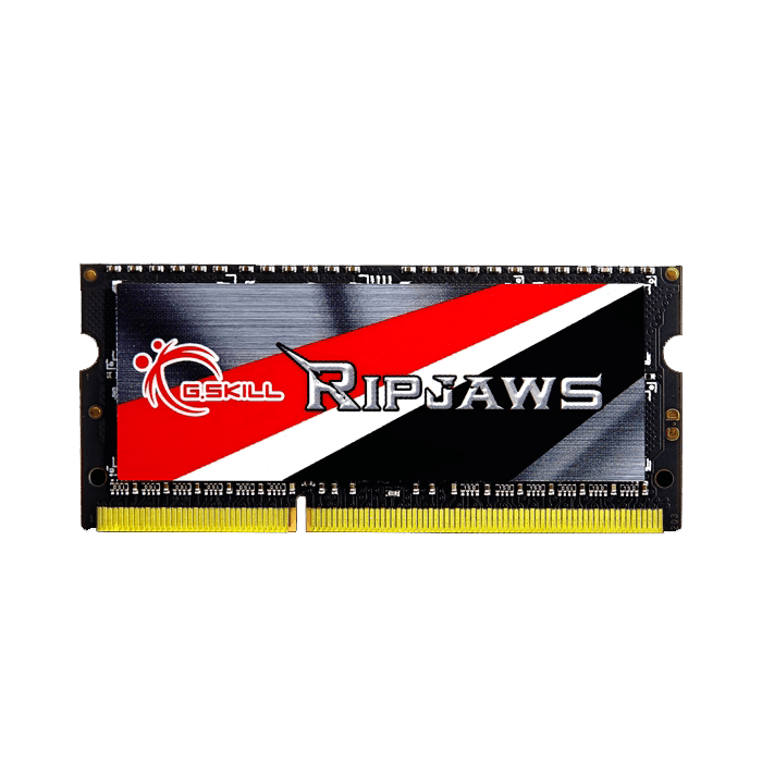 4GB Ripjaws® 204-Pin PC3-12800 DDR3L 1600MHz CL11 (11-11-11-28) 1.35V SDRAM SODIMM, Non-ECC Memory