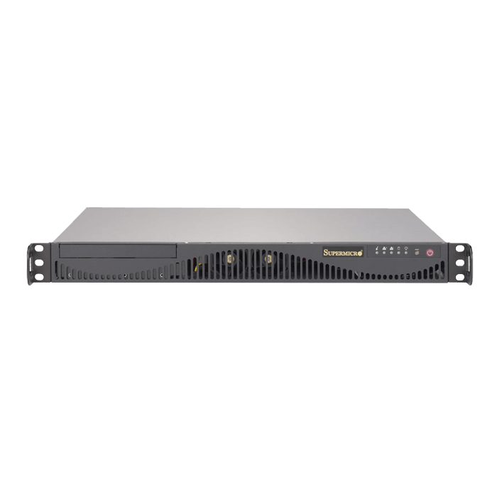 SuperServer 5019S-ML, 1U, Intel C236, 2x SATA, 4x DDR4, Dual 1Gb Ethernet, 350W PSU