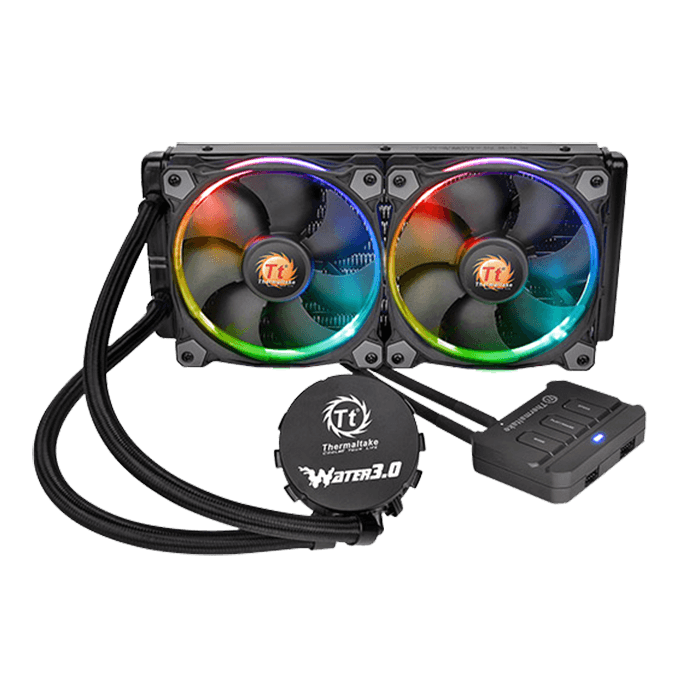 Water 3.0 Riing RGB 240mm, Socket 2011-3/1151/AM3+/FM2, Retail Liquid Cooling System