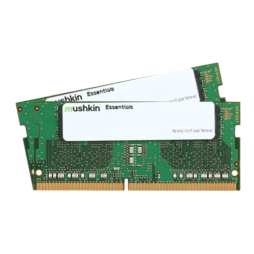 8GB Kit (2 x 4GB) Essentials® DDR4 2133MHz, PC4-17000, CL15 (15-15-15) 1.2V, Non-ECC, SO-DIMM Memory