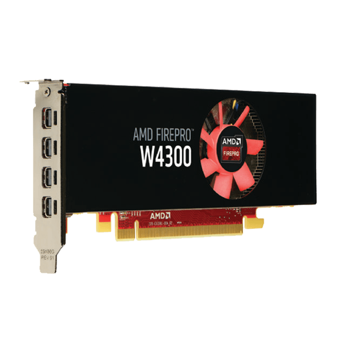 FirePro W4300 100-505935, 4GB GDDR5 128-Bit, PCI Express 3.0 Graphics Card