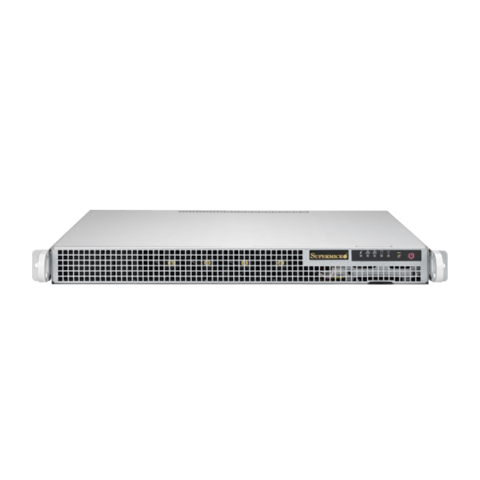 SuperServer 1028R-WMRT, 1U, Intel C612, 2x SATA, 16x DDR4, Dual 10Gb Ethernet, 400W Rdt PSU