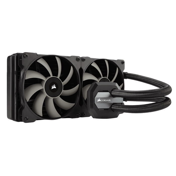 Hydro Series H115i 280mm, Socket 2011-3/1151/AM3+/FM2+, Retail Liquid Cooling System