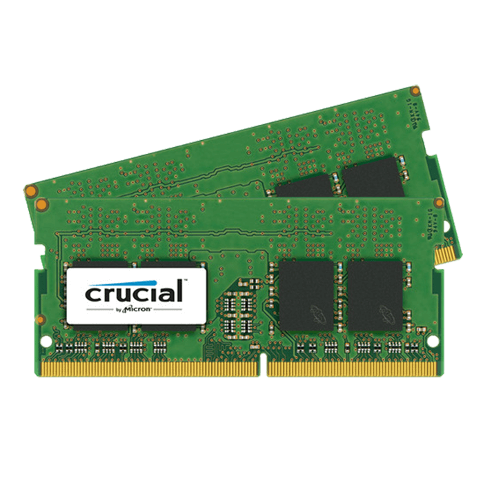 32GB Kit (2 x 16GB) DDR4 2133MHz, PC4-17000, CL15 1.2V, Non-ECC, SODIMM Memory