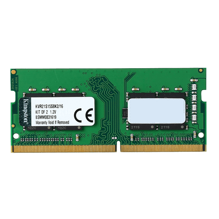 16GB ValueRAM DDR4 2133MHz, PC4-17000, CL15 (15-15-15) 1.2V, Non-ECC, SODIMM Memory