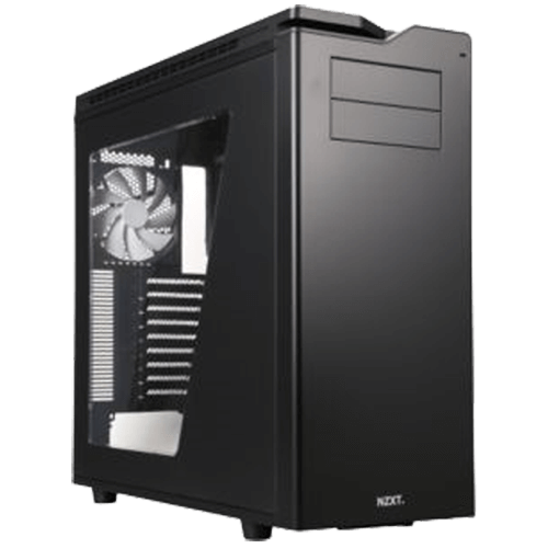 H Series H630 w/ Window, No PSU, XL-ATX, Black, Full Tower Case