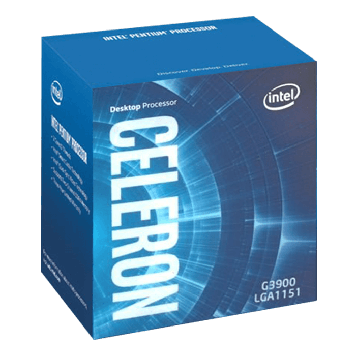 Celeron G3920 Dual-Core 2.9GHz, HD Graphics 510, LGA 1151, 2MB L3 Cache, DDR3L / DDR4, 14nm, 51W, Retail Processor