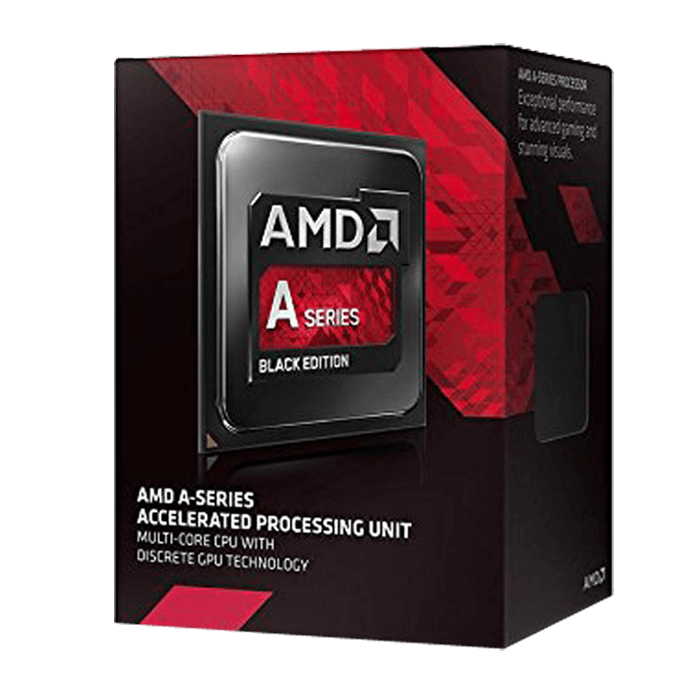 A10 7860K Quad-Core 3.6 - 4.0GHz TB, Radeon R7, FM2+, 4MB L2 Cache, DDR3, 28nm, 65W, w/ Quiet Cooler Retail Processor