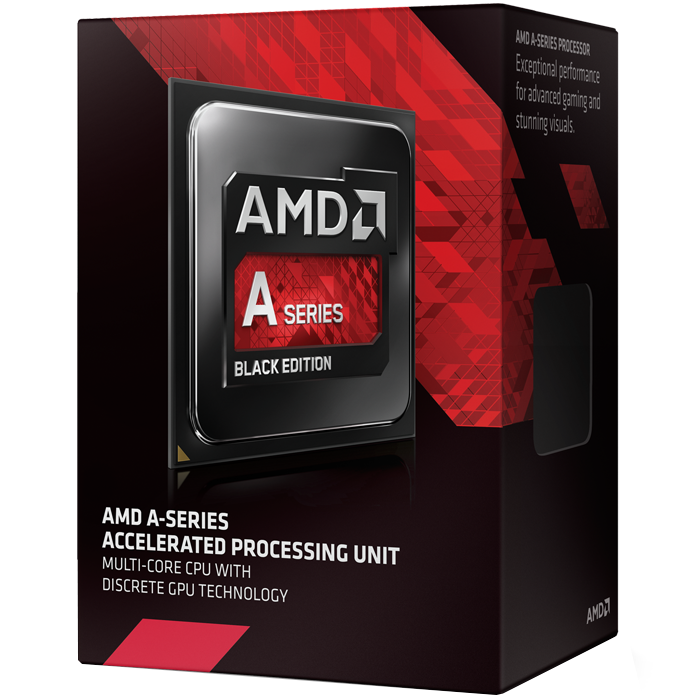 A8 7670K Quad-Core 3.6 - 3.9GHz TB, Radeon R7, FM2+, 4MB L2 Cache, DDR3, 28nm, 95W, w/ Quiet Cooler Retail Processor