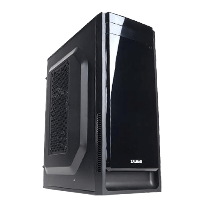 T2 Plus, No PSU, microATX, Black, Mini Tower Case