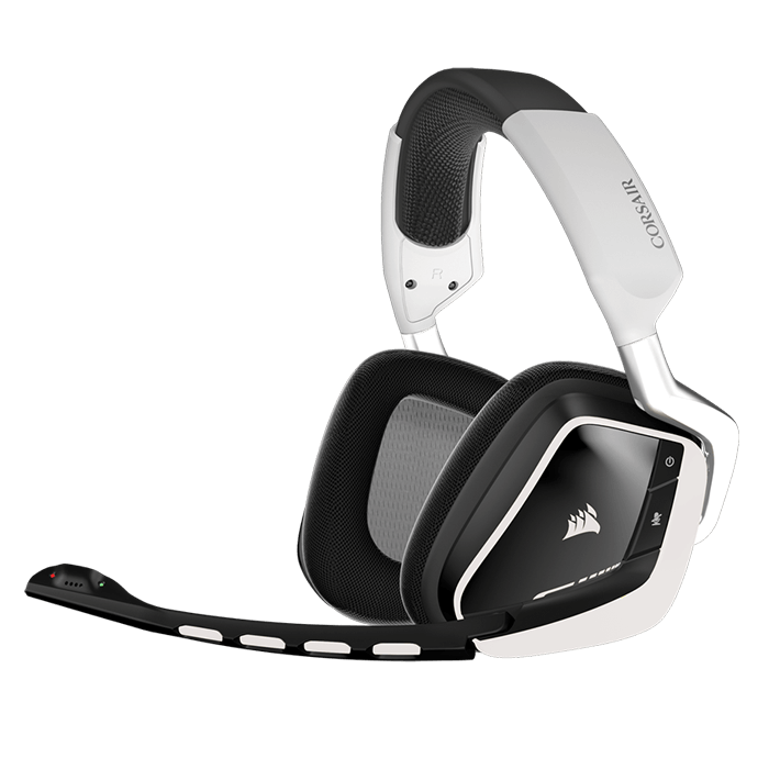 VOID Series CA-9011145-NA w/ Microphone, Dolby® 7.1 RGB, Wireless, White/Black, Retail Gaming Headset