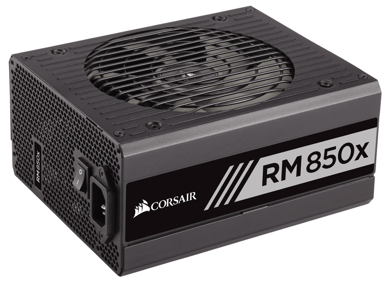RMx Series RM850x 850W, 80 PLUS Gold, Full Modular, ATX Power Supply