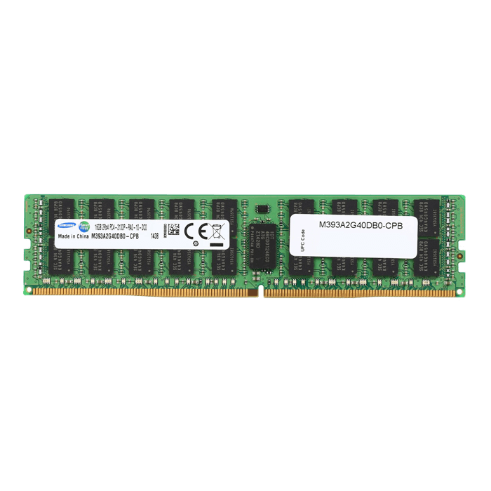 16GB Dual-Rank PC4-17000 DDR4 2133MHz CL15 1.2V SDRAM DIMM, ECC Registered Memory