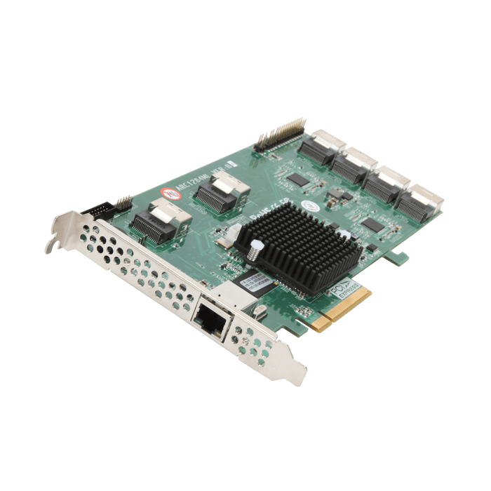 ARC-1284Ml-24MM SATA 6 Gb / s RAID Card, 24-Int / 6-Ext ports, PCIe x8, Low-profile, Retail