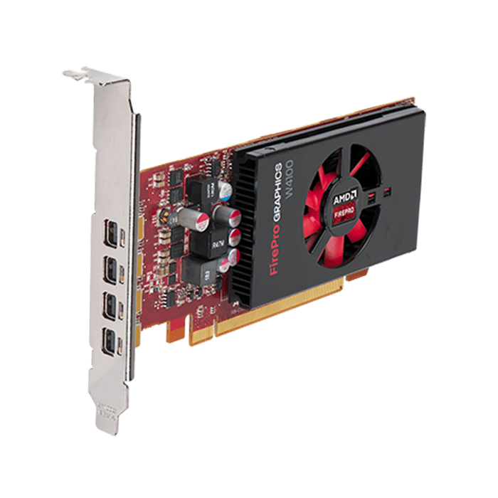 FirePro W4100 100-505979, 2GB GDDR5 128-Bit, PCI Express 3.0 Low Profile Graphics Card