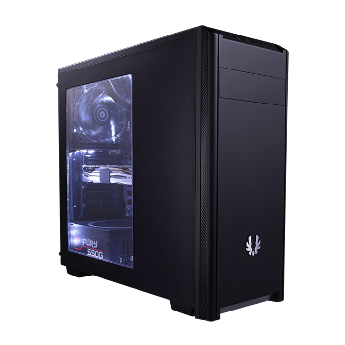 Nova Series BFX-NOV-100-KKWSK-RP w/ Window, No PSU, ATX, Black, Mid Tower Case