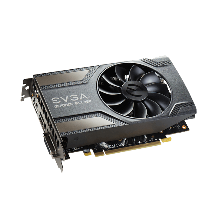 GeForce GTX 950 SC GAMING 02G-P4-1956-KR, 1127 - 1317MHz, 2GB GDDR5 128-Bit, PCI Express 3.0 Graphics Card