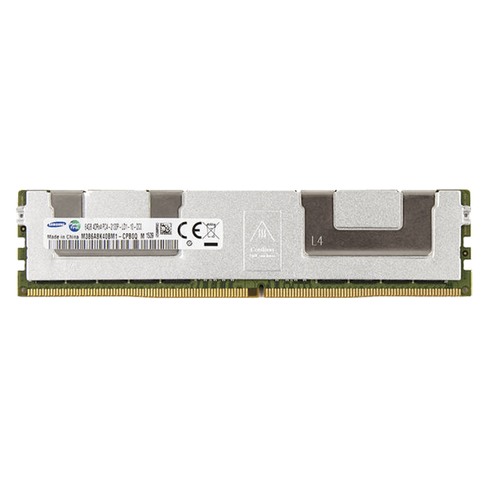 64GB Quad-Rank PC4-17000 DDR4 2133MHz CL15 1.2V SDRAM DIMM, ECC Load Reduced