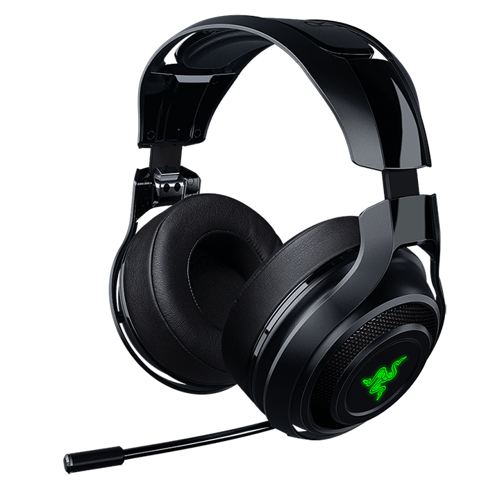 ManO'War w/ Microphone, Wireless 7.1 Virtual Surround Sound Chroma, Black, Retail Gaming Headset