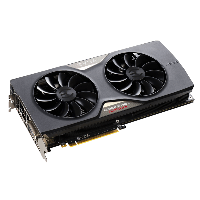 GeForce GTX 980 Ti CLASSIFIED GAMING ACX 2.0+, 1000 - 1190MHz, 6GB GDDR5 384-Bit, PCI Express 3.0 Graphics Card