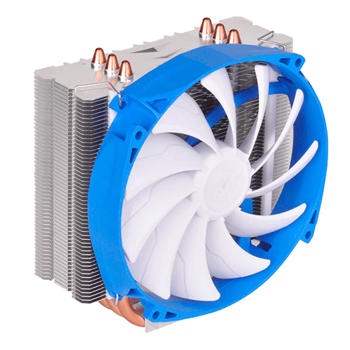 Argon Series SST-AR07, Socket 2011-3/1151/AM3+/FM2+, 159mm Height, Copper/Aluminum, Retail CPU Cooler