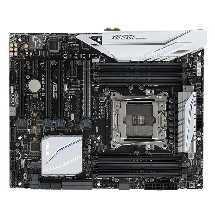 X99-A II, Intel X99 Chipset, LGA 2011-3, DDR4 128GB, M.2, U.2 Port, USB 3.1, ATX Retail Motherboard
