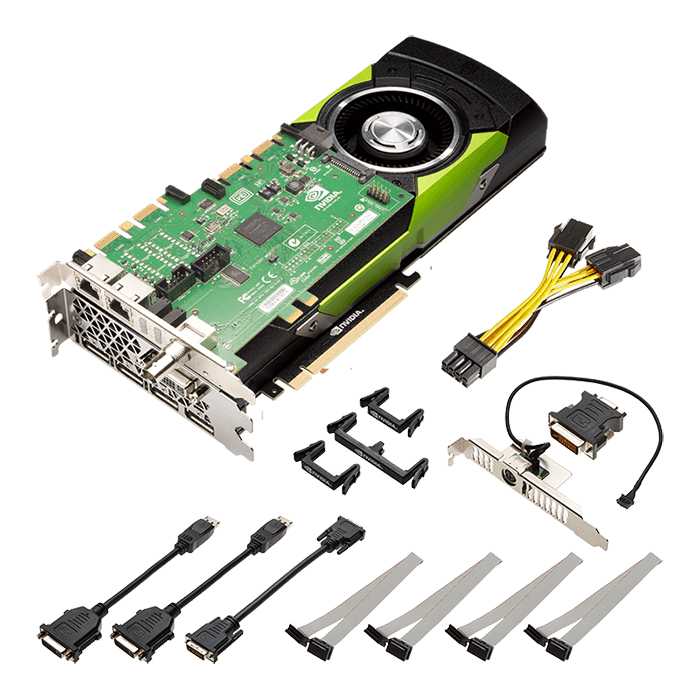 Quadro M6000 Sync VCQM6000SYNC24GB-PB, 24GB GDDR5 384-Bit, PCI Express 3.0 Graphics Card