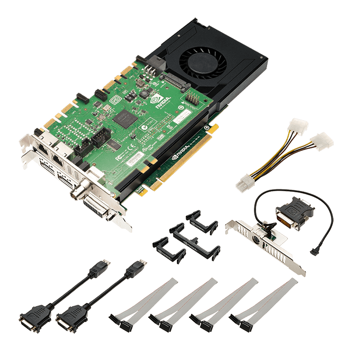 Quadro K4200 Sync VCQK4200SYNC-PB, 4GB GDDR5 256-Bit, PCI Express 2.0 Graphics Card