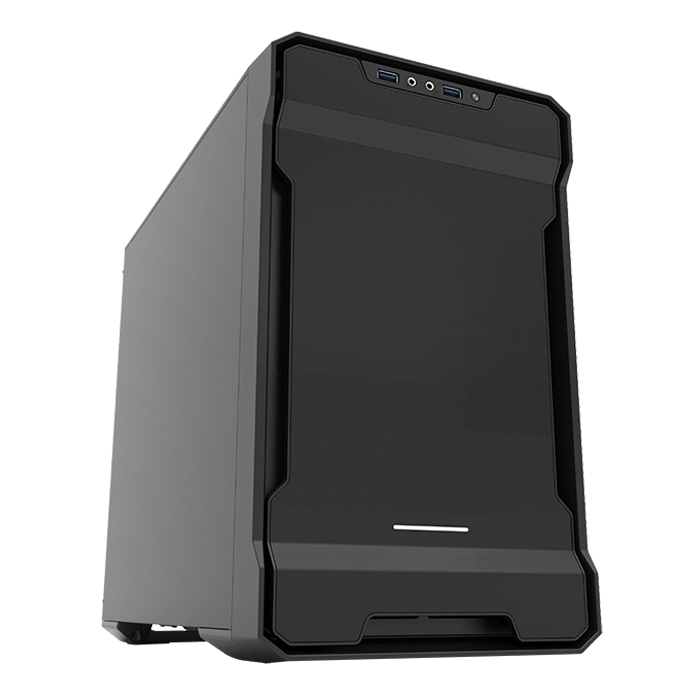 Enthoo Series Evolv ITX Black, No PSU, Mini-ITX, Mini Tower Case