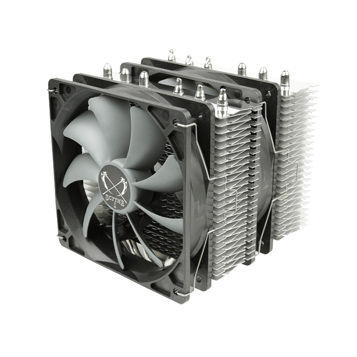 Fuma Series SCFM-1000, Socket 2011-3/1151/AM3+/FM2+, 149mm Height, Nickel/Copper, Retail CPU Cooler