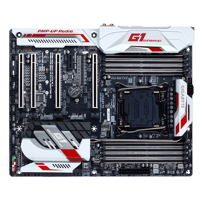 GA-X99-ULTRA GAMING, Intel X99 Chipset, LGA 2011-3, ATX Motherboard