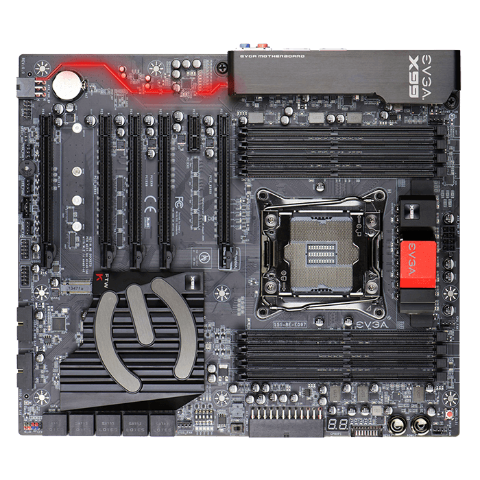 X99 FTW K, Intel X99 Chipset, LGA 2011-3, DDR4 128GB, M.2, USB 3.1, E-ATX Retail Motherboard