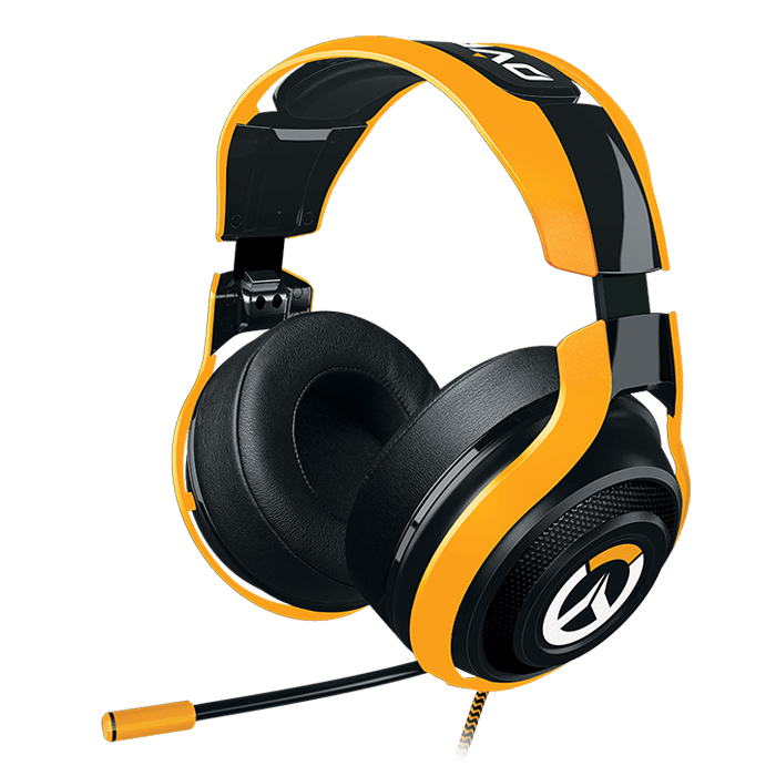 ManO'War Tournament Edition w/ Microphone, 3.5mm, Black/Yellow, Retail Gaming Headset