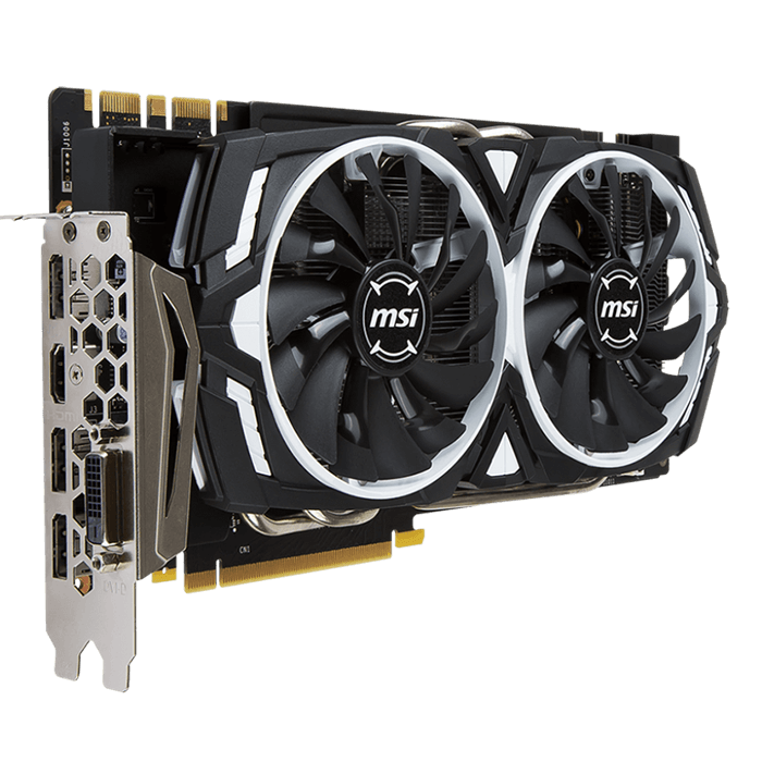 GeForce GTX 1070 ARMOR 8G OC, 1556 - 1746MHz, 8GB GDDR5 256-Bit, PCI Express 3.0 Graphics Card