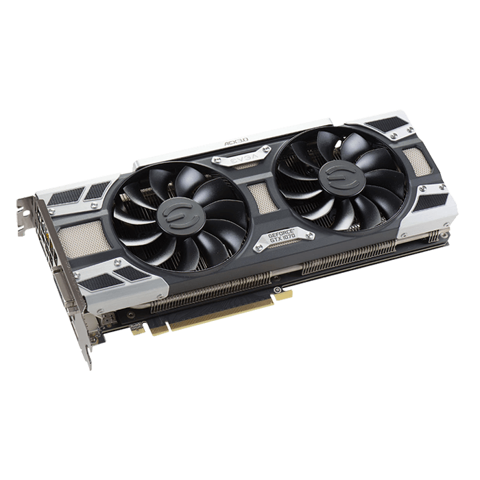 GeForce GTX 1070 SC GAMING ACX 3.0, 1594 - 1784MHz, 8GB GDDR5 256-Bit, PCI Express 3.0 Graphics Card