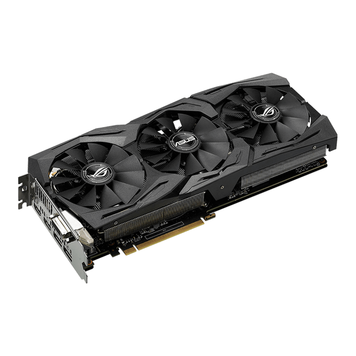 ROG Series GeForce GTX 1070 STRIX-GTX1070-O8G-GAMING, 1632 - 1860MHz, 8GB GDDR5 256-Bit, PCI Express 3.0 Graphics Card