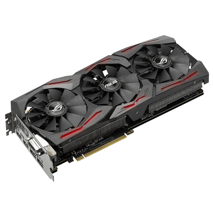 ROG Series GeForce GTX 1070 STRIX-GTX1070-8G-GAMING, 1506 - 1721MHz, 8GB GDDR5 256-Bit, PCI Express 3.0 Graphics Card