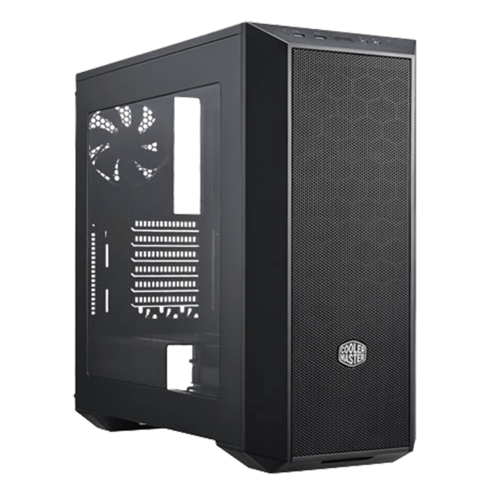 MasterBox 5 w/ Window, No PSU, ATX, Black, Mid Tower Case