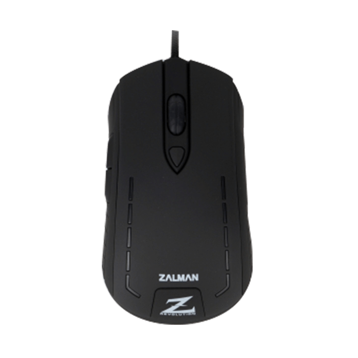 ZM-M401R, 4 Color Indicating, 6 Buttons, 2500dpi, Wired USB, Black, Retail Optical Gaming Mouse