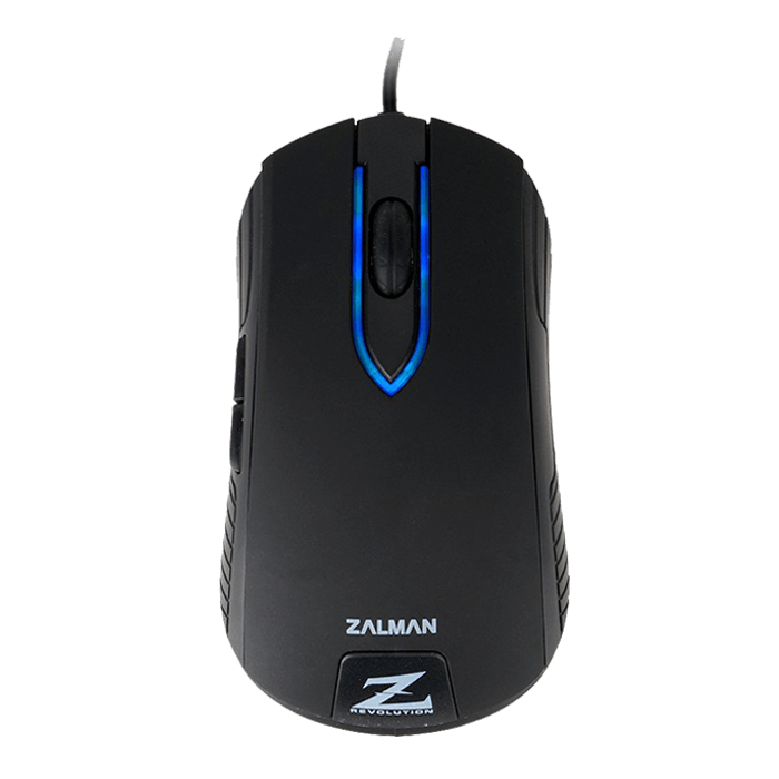 ZM-M201R, Blue LED, 5 Buttons, 1000dpi, Wired USB, Black, Retail Optical Gaming Mouse