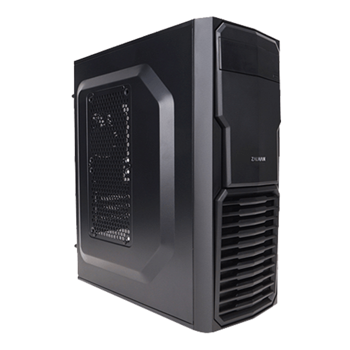 T4, No PSU, microATX, Black, Mini Tower Case