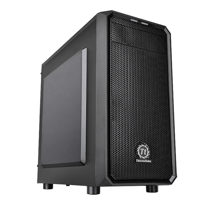 Versa Series H15, No PSU, microATX, Black, Mini Tower Case