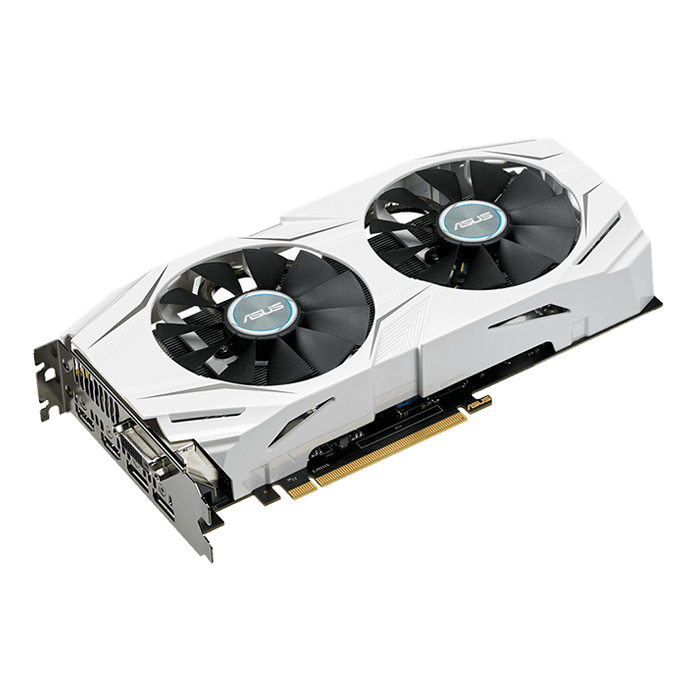 GeForce GTX 1070 DUAL-GTX1070-O8G, 1582 - 1771MHz, 8GB GDDR5 256-Bit, PCI Express 3.0 Graphics Card