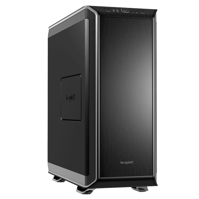 Dark Base 900, No PSU, E-ATX, Black/Silver, Mid Tower Case
