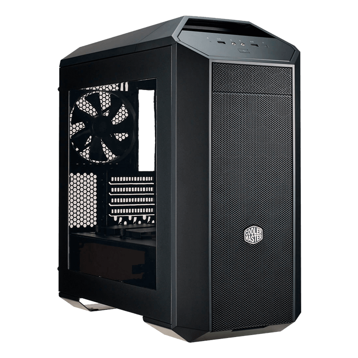 MasterCase Series Pro 3 w/ Window, No PSU, microATX, Black, Mini Tower Case