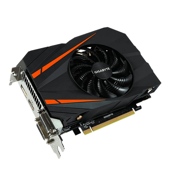 GeForce GTX 1060 Mini ITX OC 3G, 1531 - 1771MHz, 3GB GDDR5 192-Bit, PCI Express 3.0 Graphics Card